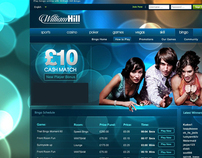 William Hill Bingo Concept & Web Design