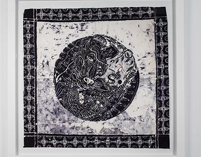 Batik work by The Yok and Sheryo