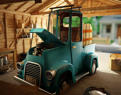 Old Pickup Truck - Personal Project