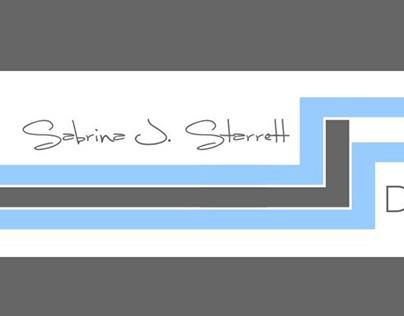 Sabrina J. Starrett: personal logo