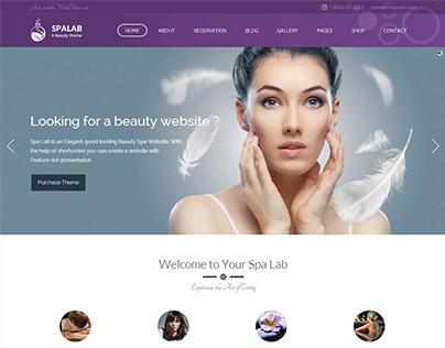 Spa Lab | Beauty Salon WordPress Theme