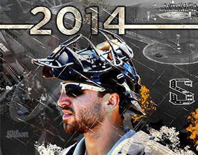 2014 Schaumburg Boomers Player Allstar Poster