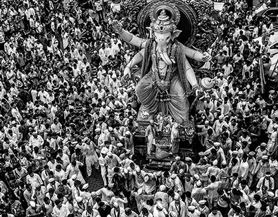 THE FINAL DAY JOURNEY OF GANESH...