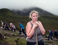Portrait of the Pilgrim 2011, Croagh Patrick, Co. Mayo,