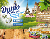 Danone Danio Doubles, promotional website/game design