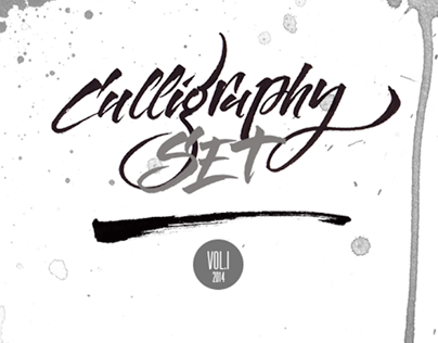 Calligraphy set – Vol. I