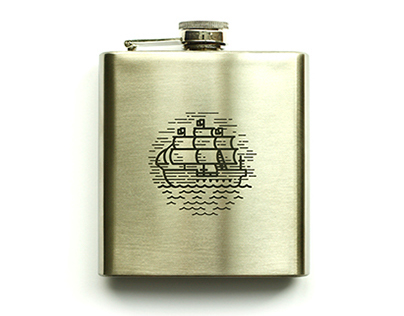 Boat Flask