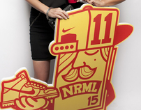 NRML x NIKE 15TH anniversary