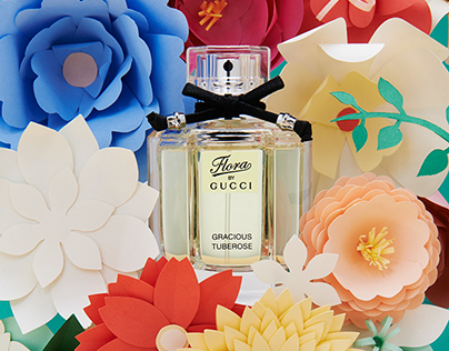 Flora by Gucci   Papercrafted flowers