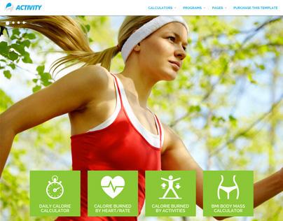 ACTIVITY - Calories Calculators and Sport Activity