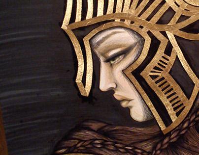 Athena the Greek goddess