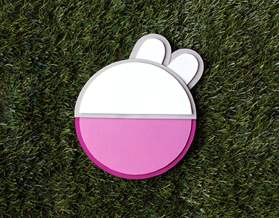 Peppa Pig Minimalist Characters Design
