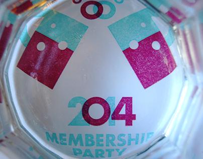 AIGA Indy 2014 Membership Party Invite