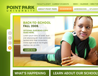 Point Park University Website