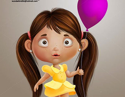 the girl with the balloon