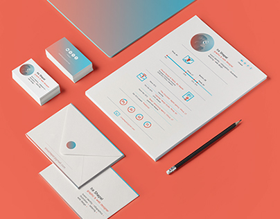 Personal CV+business cards
