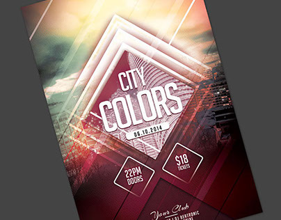 City Colors Flyer