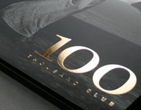 100 Thousand Club promotional folder