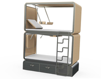 Letto Letto - Bunk Bed for Hostels