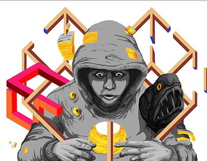 Beat Machine Records - Illustration Gallery
