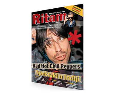 Newspaper Supplement - Ritam, music magazine