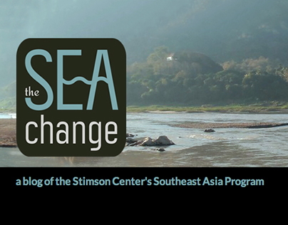 The SEA Change logo design