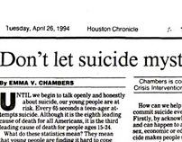 Houston Chronicle op-ed
