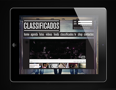 Classificados Band |  Website