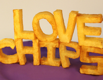Visual Alphabet with Chips