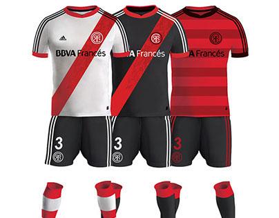 River Plate re-brand & Club Emblem Design