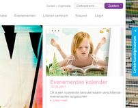 Web design for the Dutch Childrens Book Museum