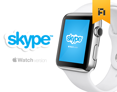 Apple Watch with Skype and Viber