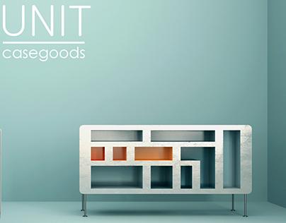 UNIT casegoods project