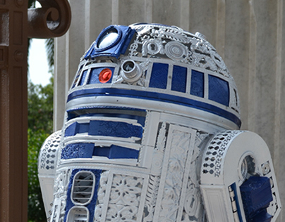 R2-D2 Imperial style