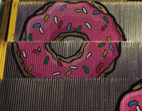 Donuts escalator // The Simpsons Movie