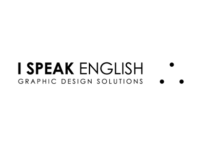 I Speak English Logo