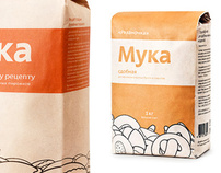 Ryazanochka baking flour bag