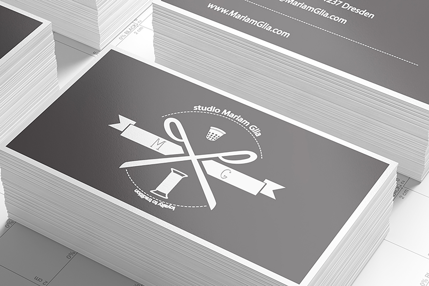 Business Cards Mock-up (90x50)
