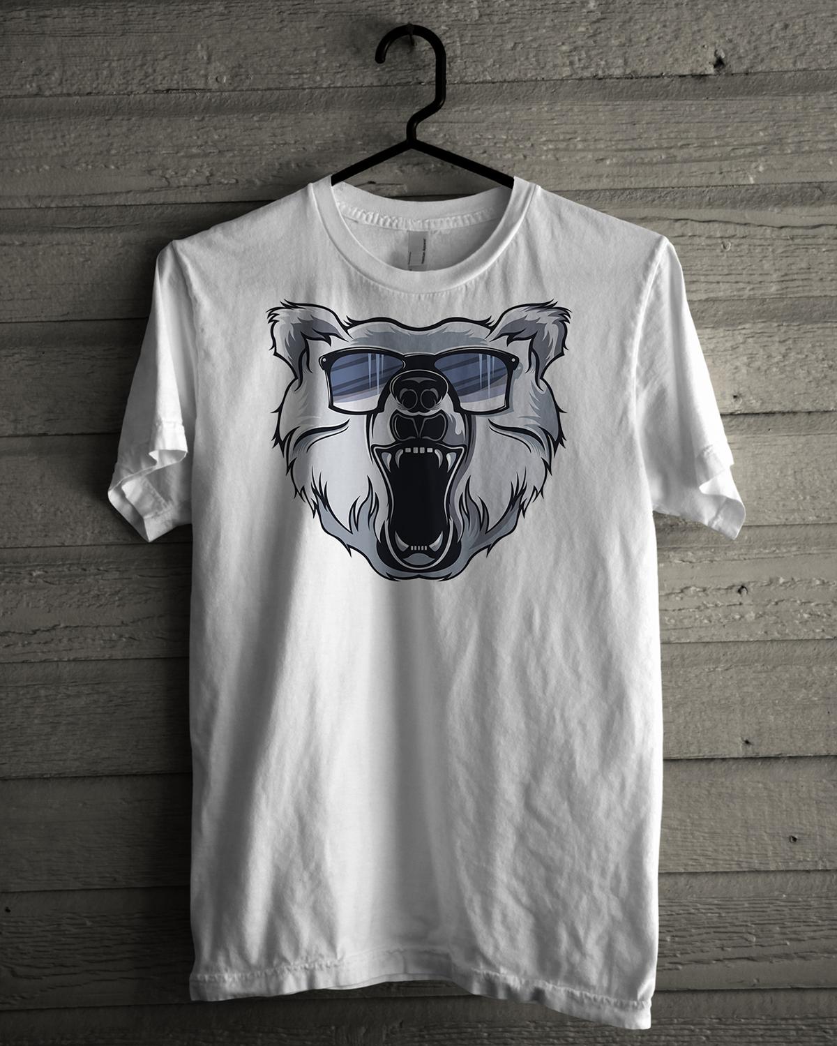 Bear Logo Illustration