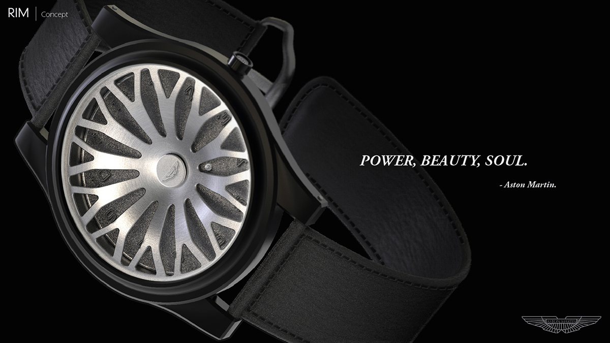 RIM -luxury watch for aston martin