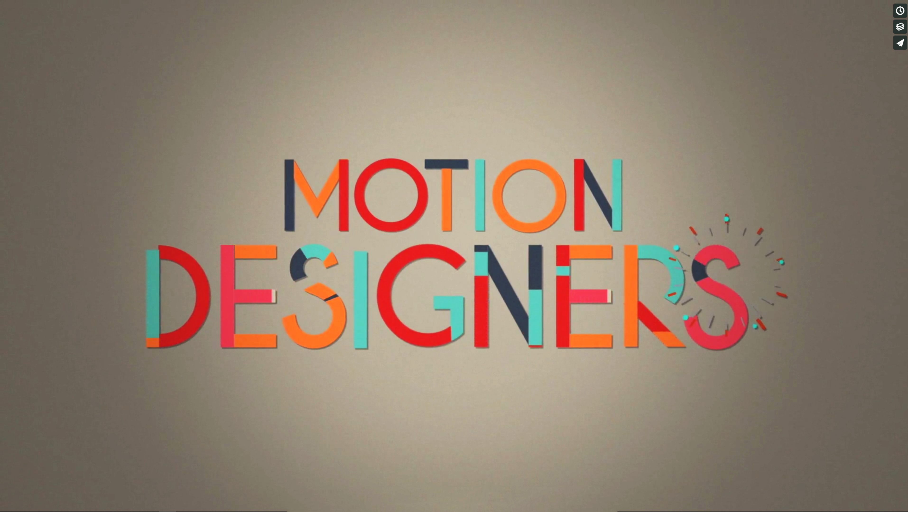 We are Motion Designers