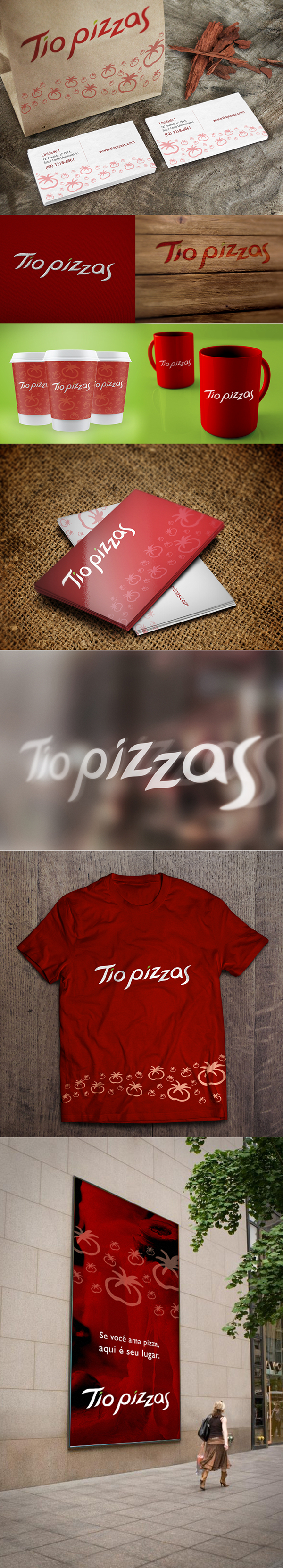 Redesign Tio Pizzas