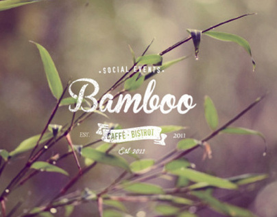 Bamboo Caffé - Social Events