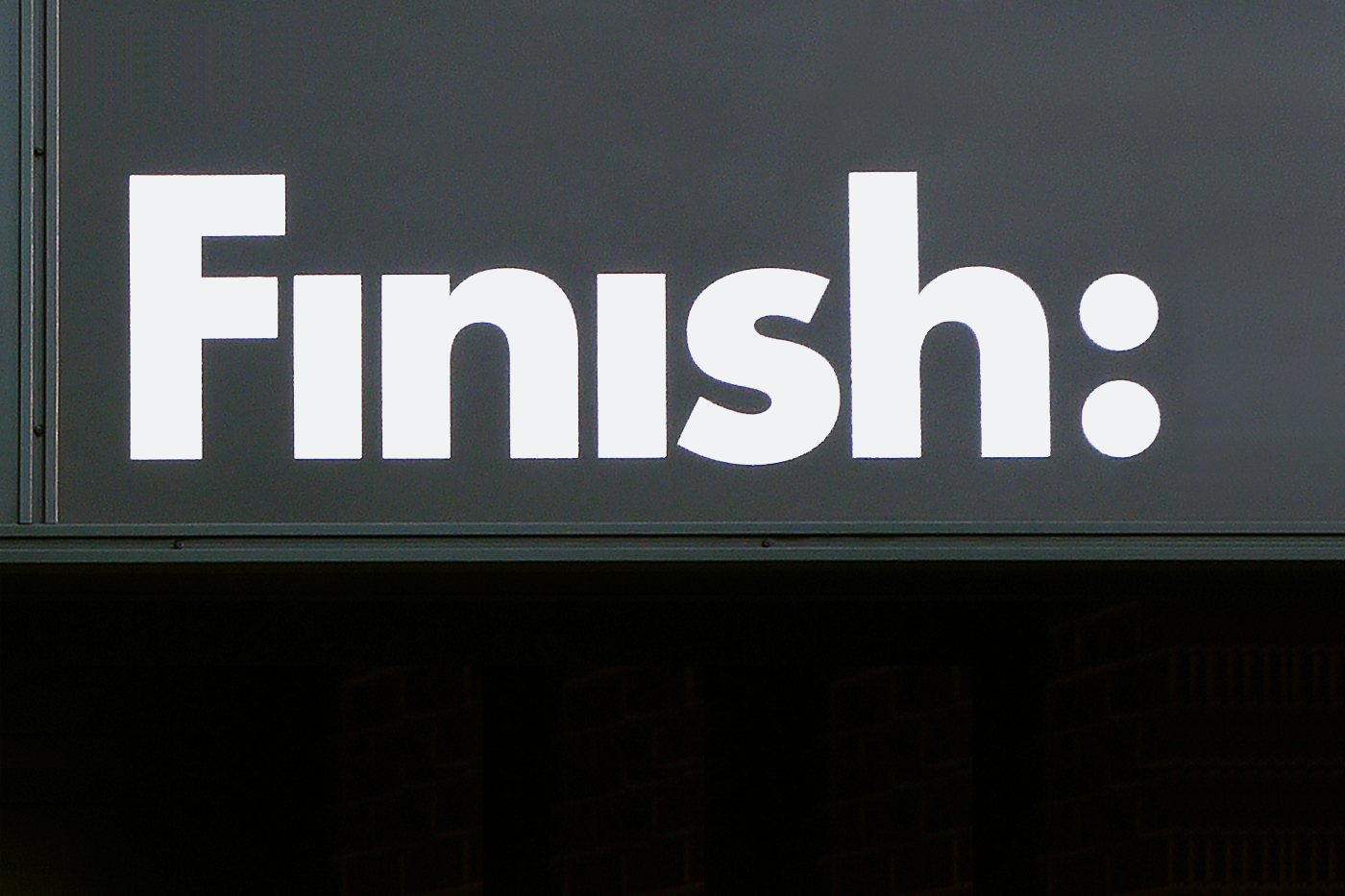 Finish Environment, London