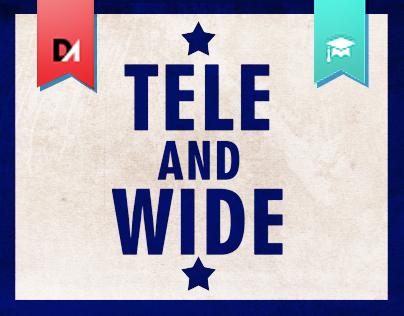 TELE &  W   .  I   .  D   .  E
