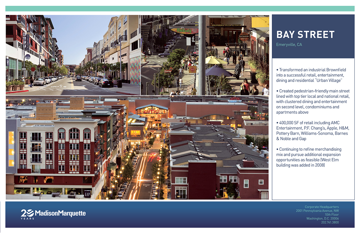Madison Marquette Property Display Boards and Brochure