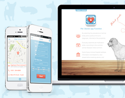 Pet Doctor | iPhone App & Web Design