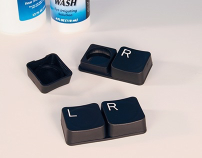 Keyboard Contact Lens Case