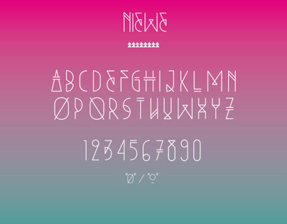 NIEWE free font (Personal Use Only)