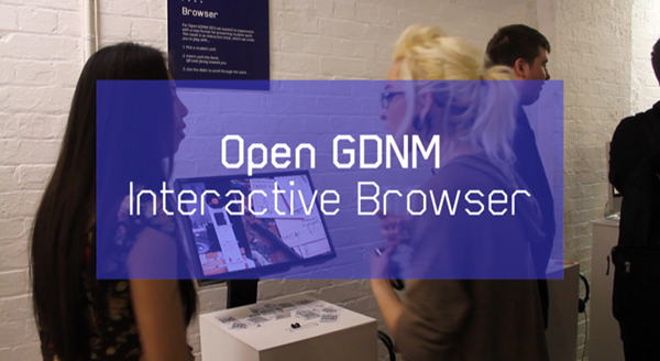 Open GDNM Interactive Browser Film